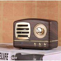 Retro Bluetooth Speaker Hm11 Wireless Soundbar Mini Speakers Loudspeaker Boombox 3d Stereo Hifi Sound Tf Party Favor Gga3625-2