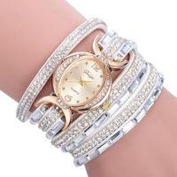 Женщины Часы 2021 Дамы Дам Алмазные Часы Кожаный Браслет Bayan Saat Montre Femme P40 Наручные часы