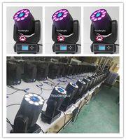 Effekte 4 Stück LED DMX Weihnachtsbeleuchtung 9 * 12W RGBWA UV Moving Head Wash 75w Gobo Move Spot