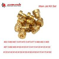 AlCONSTAR 10PCS M6 Carburateur Réparation Main Jet Kit De Jet Injectors Buse # 62.5-155 Injecteur pour VM11-22 Grand Système de carburant de moto rond