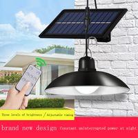 태양 샹들리에 LED 슈퍼 밝은 레트로 전구 램프 야외 방수 에너지 절약 복도 안뜰 경로 라이트 야간 빛