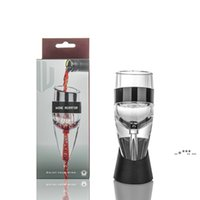 NewNew Magic Wine Aeroator Tinto Vino EECANTER CON BOLSO Y FILTRO TOLPER Decantador de vino EWD6093