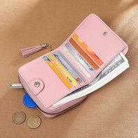 Fashion Selling Classic channe wallets Women Top Quality Sheepskin Luxurys Designer bag Gold and Silver Buckle Coin Purse Card Holder With box.117