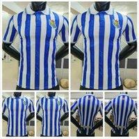 Oyuncu Sürümü Gerçek Sociedad 20 21 Futbol Jersey Sezon İspanyol Kings Kupası Oyarzabal Isak Copadelrey Granero Odegaard Juanmi Camiseta de Futbol Futbol Gömlek