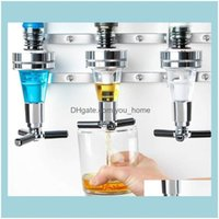 Home Garden Ice Buckets And Coolers Barware Kitchen, Dining & 4 Bottle Bar Beverage Liquor Dispenser Alcohol Drink S Cabinet Wall Mounted Wi