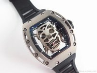 EUR RM052 Montre de Luxe Upgrade Turney Mechanische Bewegung Uhren Importierte Gummiband Luftfahrt Titan Fall Designer Uhren