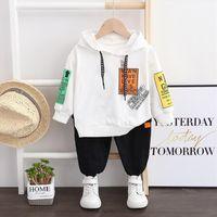 Baby Clothes Children Boys Girls Sport Letters Hoodies Pants 2pcs Sets Toddler Active Clothing Infant Kids Tracksuit