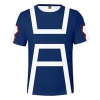 Benim Kahraman Akademi Tişört Erkekler / Kadınlar Moda Harajuku Hip Hop Yüksek Kalite 3D Baskı erkek T-Shirt Giysileri Üst T-Shirt