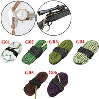 Bore Snake Rope Brush 12 Gauge 0.17 .22 .30 .308 .38 .44 .44 .45 .45 .46 .46 .46 كال برميل