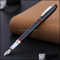 Pens Writing Supplies Office School Business & Industrialpicasso Pimio 907 Montmartre Black Fountain Red And Yellow Ring Optional , M Nib Co
