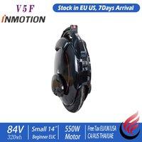Inmotion V5F Moheel صغير 14 بوصة 550W 320Wh 84V مبتدئين كيد أحادي الدراجة الهوائية الأحادية العجلة الدراجة الطبيعية في الاتحاد الأوروبي الولايات المتحدة ركلة سكوتر
