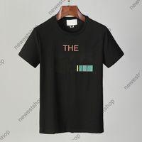 Primavera 2021 Designer T Shirt T-shirt Mens Luxury Vestiti Tshirt Gold Lettera Stampa T-shirt in cotone casual T-shirt Donna Top Tee