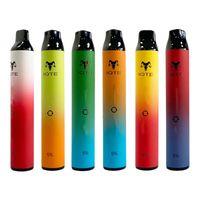 IQTE Disposable Cigarettes 1 pre-filled 2500 puffs cartridge pod device vape pen kit Dual 8ml Battery Haka Switch