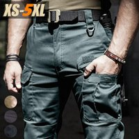 Men's Pants Casual Men Summer Tactical Military Training Style Mens Cargo Waterproof Quick Dry Solid Trousers