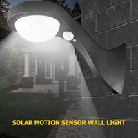 Solar Lamps 1Pcs Porch Light Human Body Infrared Lamp Powered COB Wall Column Yard Outdoor For Decoration