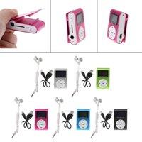 & MP4 Players MX-801 Mini USB Metal Clip Micro SD TF Card Slot LCD Screen Music MP3 Player