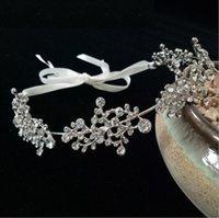 Europäische und amerikanische Braut Perle Stirnband Schöne Prinzessin Branch Diamant Hair Band