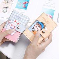 Card Holders Kawaii PU Function Case 28 Bits Business Holder Women Cute Credit Passport Bag ID Wallet Bags WY344