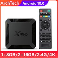 TV Box Android 10 X96Q 2.4G Wifi Allwinner H313 Quad Core 1G 8G 2GB 16GB 1080P Media Player X96 Q 4K Smart Set Top Box