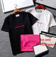 2021 camisas dos homens para homens mulheres verão respirável shorts soltos mangas letras listradas impressas tops camiseta