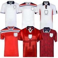 Ретро 1982 1998 2002 Shareer Beckham Soccer Jersey 1990 1989 футбольная футболка Gerrard Scholes 1994 Heskey
