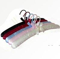 Pantalla de percha Perchas de tela Revestimiento de tela de percha de percha de seda, colgando ropa de colgante para tienda de hoteles FWA9303