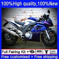 Bodywork For SUZUKI SV1000 Factory blue SV650 SV-650 SV 650S 1000S 33No.133 SV1000S SV650S 03 09 10 11 12 13 SV 650 1000 S SV-1000 2003 2004 2005 2006 2007 2008 2013 Fairing