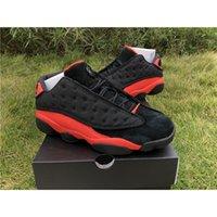 Clot x 13 Düşük Siyah Kızılötesi 23 Yüksek Kalite Erkekler Basketbol Ayakkabı 13 S Süet 3 M Erkek Bayan Spor Sneakers ile Kutusu