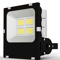 SMD 3030 LED Floodlight al aire libre 100W luces de trabajo con IP66 impermeable, 6000k Iluminación blanca Luz de inundación para garaje, jardín, césped y patio Crestech