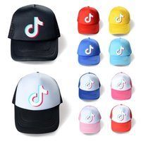10 couleurs Summer Mesh Ball Hat Tiktok Logos Capuchon de baseball Designers Unisex Snapback Net Patchwork Queue de queue de queue de Poney Sports Beach Visor G36epf2