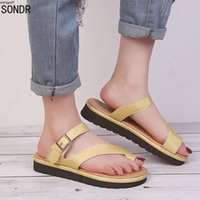 Sandals IN 2021 Women Plain Shoes Flat Platform Ladies Casual Big Toe Foot Correction Orthopedic Bunion Corrector Flip Flop
