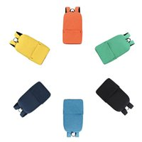 Backpack MINI Solid Color Waterproof Oxford Cloth Fashion Casual Men Travel Computer Tablet Women Student Bag