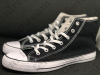 큰 size35-46 유니섹스 로우 탑 하이 탑 캐주얼 캔버스 신발 성인 여성 남성 13 색 스 니커 학생 편안한 평면 신발