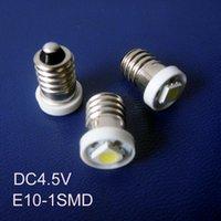 Bulbs High Quality DC4.5V E10 Led Bulb Lamp Light,E10 Signal Light,Instrument Light,Led Warning Light 100pcs lot