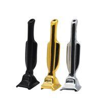 Mini Trofeo Tubería Fumar Metal Snuff Snorter Vacuum Sniffer Dispensador Nasal TUBO Paja Tabaco Hierba Hand Pipes GWA9308