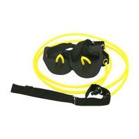 Fitness Résistance Ceinture Barrière de natation Formateur Yoga Intérieur Entraînement de Waving Webbed Gants Bandes de posture