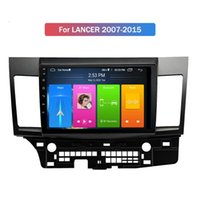 Touch Screen Car DVD Player Multimedia con navigazione GPS Built-in WiFi stereo radio Android 10 2 DIN per Mitsubishi Lancer 2007-2015