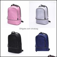 & Outdoorsthe Lu Backpack Yoga Backpacks Travel Outdoor Sports Bags Teenager School 4 Colors Drop Delivery 2021 5Xbqh