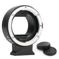 Lens Adapters & Mounts Adapter Ring EF-EOS R Auto-Focus Len Mount Adaptor Converter Compatible With EF EFS To EOS RP R5 R6 RF Camera