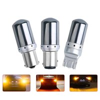Emergency Lights 1X Highbright S25 1157 1156 BA15S BAU15S Car Led T25 3157 Reverse Lamps T20 7443 7440 Auto Motorcycle P21 5W Signal Diode