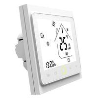 Smart Home Control WiFi Thermostat Unterboden Heizung Temperaturregler LCD-Touchscreen-Hintergrundbeleuchtung arbeitet mit Alexa Google