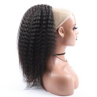 """Synthetic Wigs Drawstring Ponytail Wig Fluffy Kinky Straight Hair Piece For Women 16"""" Afro Natural Black Fake"""