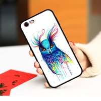 Cases Watercolor Owl Phone case cover for iphone 6 6s 7 8 Plus x xr xs 11 12 13 pro max soft tpu shockproof Protector back casing original design