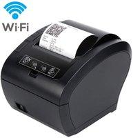 عالية 80 ملليمتر 300 متر / ثانية طابعة استلام الحرارية pos الطابعة اللاسلكية wifi / بلوتوث طابعة السيارات القاطع الروبوت / ios / ويندوز esc / pos