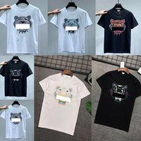 Ins 20ss Spring Summer t-shirts American Unisex Bandana tiger Skateboard Mens designer t shirts Women Men Casual t-shirt good Tshirt 0202