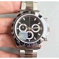 망 시계 TONA M116519 간단한 다이얼 사파이어 낭타 세라믹 베젤 남성 시계 스테인레스 스틸 자동 기계 남성 손목 시계 도타 텔라