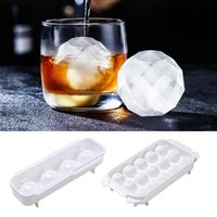 Baking Moulds Dozzlor 4-Cavity Ice Cube Maker Chocolate Mould Tray Cream DIY Tool Whiskey Wine Cocktail 3D Silicone Mold
