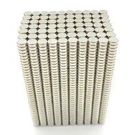 2021 Imanes 100pcs 6x2 Néodyme Magnet Disque permanent N35 NDFEB petit rond super puissant puissant aimants magnétiques 6mm x 2mm