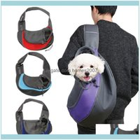 Car Seat Ers Supplies Home & Gardenpawstrip Sling Outdoor Dog Travel Tote Carrier Bag Mesh Breathable Pet Puppy Shoulder Drop Delivery 2021