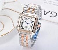 Luxus berühmter Designer Frau Watch Armband Armbanduhr Mode Dame Kleid Uhren Großhandel